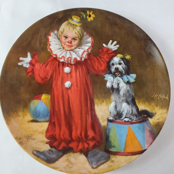 Tommy the Clown Decorative Plate